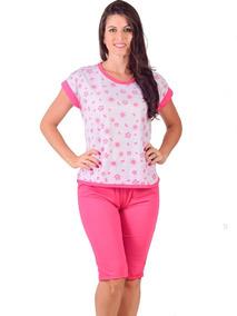ce349f9d1e1f80 Pijama Pescador Feminino Malha