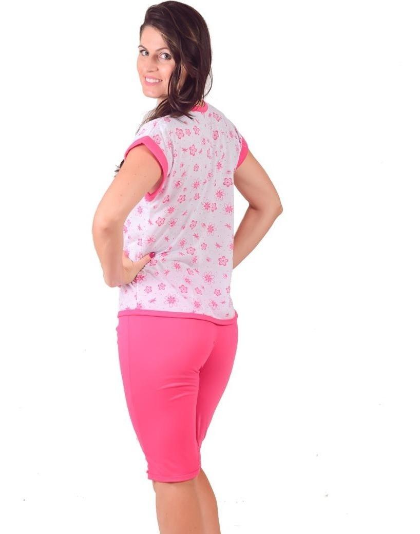 7a74fd9cf5e397 Pijama Pescador Feminino Malha