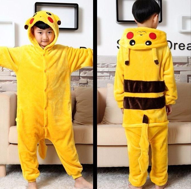 barato para la venta Zapatillas 2018 obtener nuevos Pijama Pikachu Kigurumi, Cosplay, Mameluco Adulto. Onesie ...