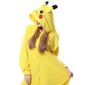 4f4937fe68dfec Pijama Pikachu Picachu Cosplay Kigurumi Unicornio + Brinde