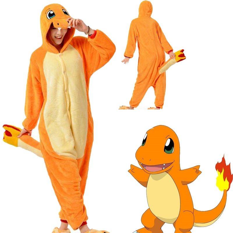 pijama pokemon charmander kigurumi prazo médio 20 dias úteis. Carregando  zoom. a8573dd7f4853