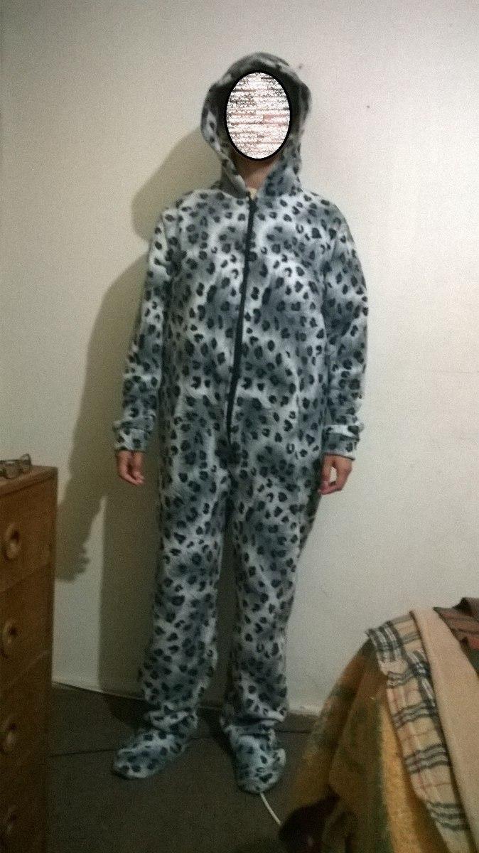 cf9f6e216757 Pijama Polar Entero Con Patitas Adultos - $ 12.500 en Mercado Libre
