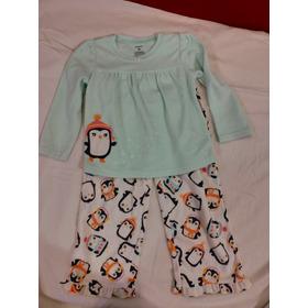 Pijama Polar Marca Carter's Para Niñas Talle 3