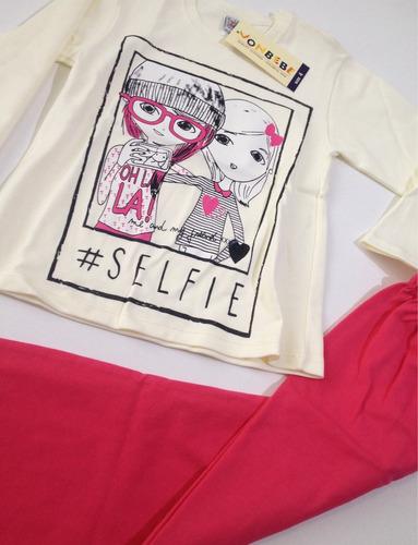 pijama premium 100% algodón vonbebe. selfie oferta $10