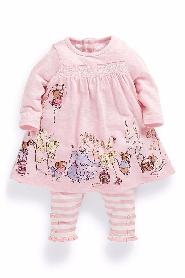 pijama rosa con elefantes - 4 - 6 meses ropa de bebé rosa. Cargando zoom. 4b8503df971