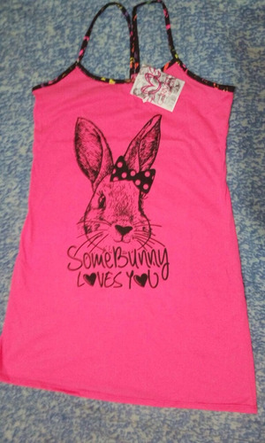 pijama some bunny loves you para señorita