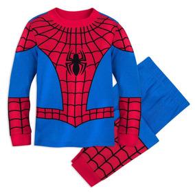 eb8e4c2d6 Pijama Spider-man Disney Store Hombre Araña Para Niño Y Bebe