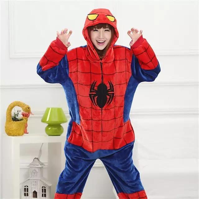 4c5c0901a2 Pijama Spiderman Adulto Kigurumi -   15.000 en Mercado Libre