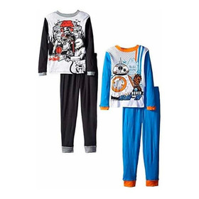 Pijama Star Wars Original! Modelo Slim. Talle 3 A 4 Años.