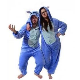 Pijama Stitch  Kigurumi Kawaii Polar Entero Adulto