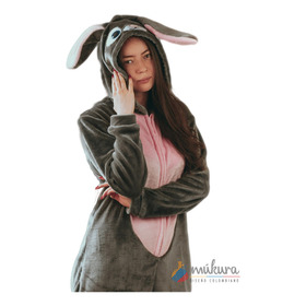 Pijama Térmica Enteriza Conejo Adulto Kigurumi