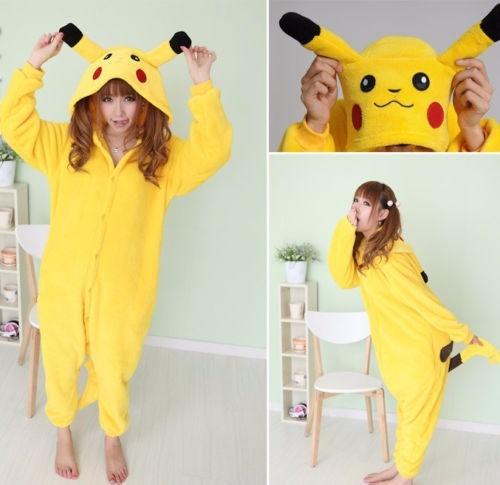 Pijama Tierna Adulto Unisex Cosplay Costume Pikachu -   99.000 en ... f83329b51dc4