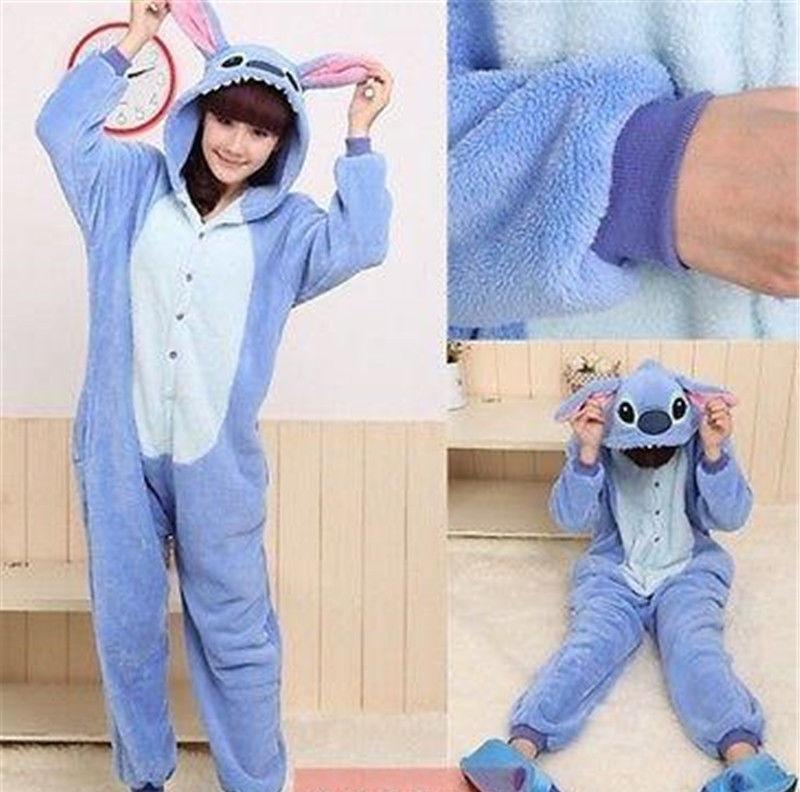 0c7a53f690 pijama tierna adulto unisex cosplay disfraz - stitch azul. Cargando zoom.