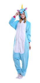 5d7a5b6c84d78c Pijama Unicornio Barato Kigurumi Feminino Inverno Inverno