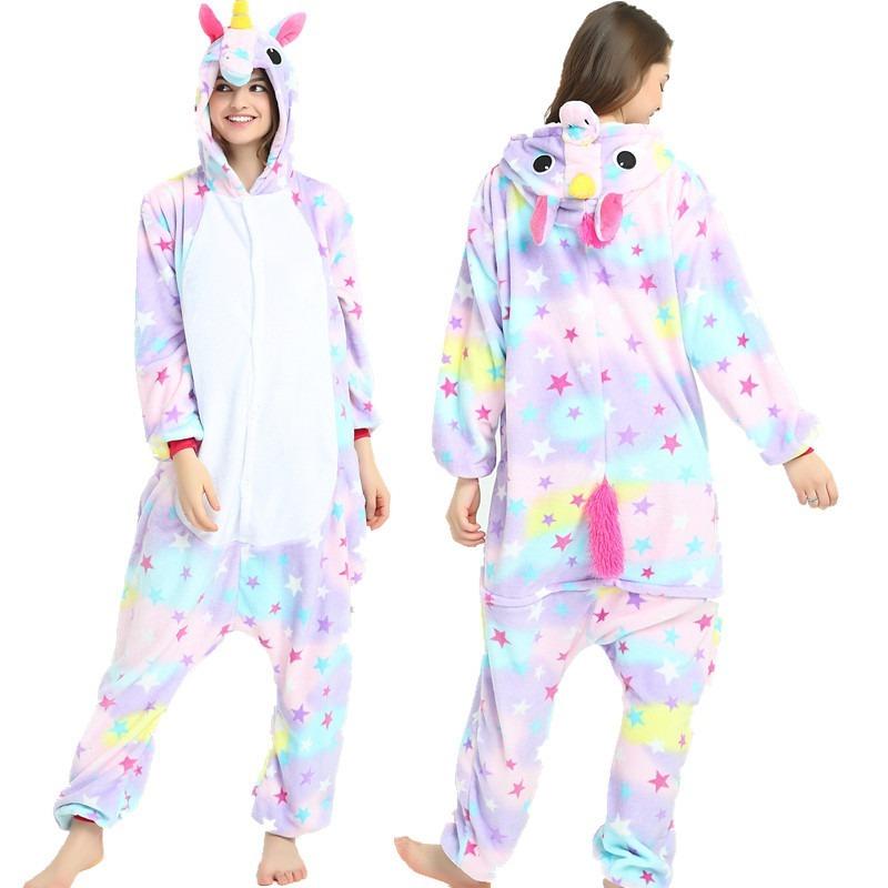 998c4461c pijama unicórnio estrelas kigurumi estrelinhas colorido. Carregando zoom.