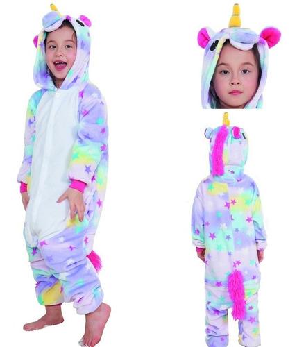 pijama unicornio. kigurumi. tallas s, m y l
