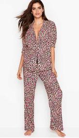 Victoria InviernoCamisa Y Pijama Secret Franela Pantalón QdBroeWExC