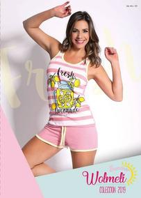 0492de5835 Pijamas Meli Wol 2012 Originales!!! Art 2018 - Pijamas de Verano de ...