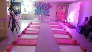 pijamada party a domicilio,spa party vintage+mini karaok