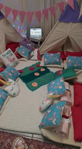 pijamadas infantiles. alquiler carpitas tipi. cumpleaños
