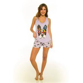 2d00cfd537 Pijama Con Cactus Talle L - Pijamas de Verano L de Mujer en Mercado Libre  Argentina