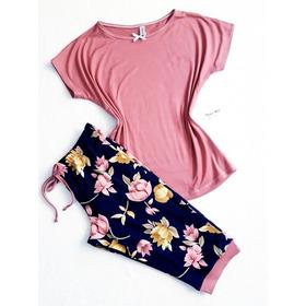 Pijamas Capri Conjunto Dama