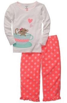 pijamas carters para niñas