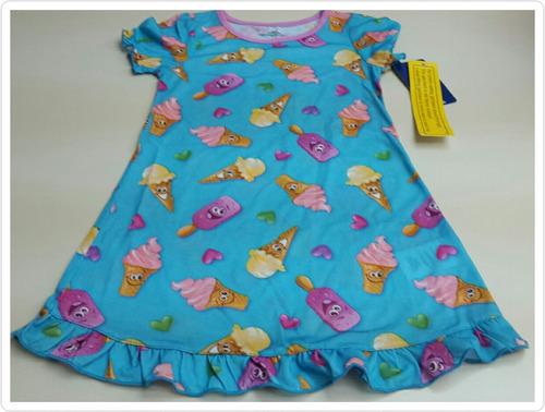 pijamas carters y disney de niñas 2 hasta 7 años
