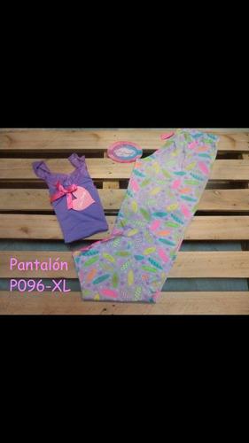 pijamas colombianas para dama y niñas