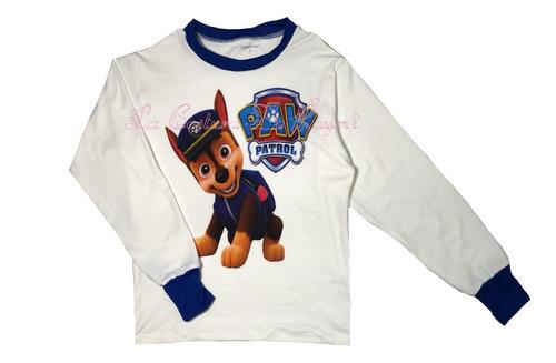 pijamas de paw patrol, varios diseños. la costura de raymi