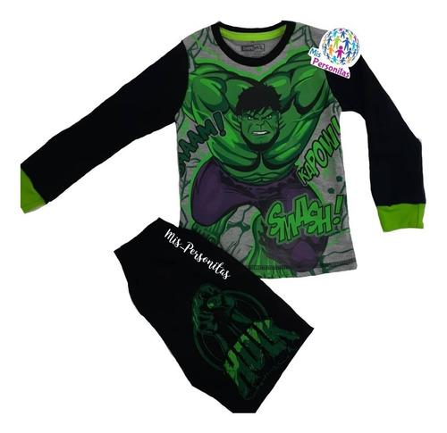 pijamas de super héroes para niños marvel, dc 100% algodon