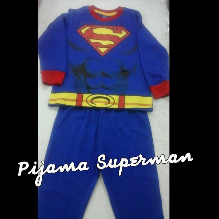 e9df0433d1 Pijamas De Super Héroes Superman 100% Algodon - Bs. 117