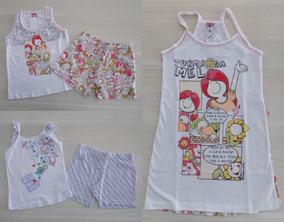 6bec5957cc3712 Pijama Turma Mel - Moda Íntima e Lingerie no Mercado Livre Brasil