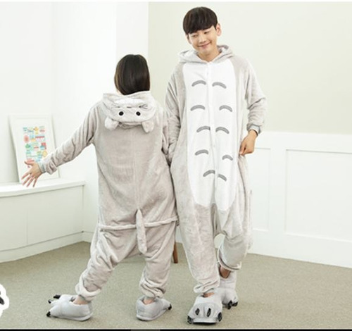pijamas enteros-enteritos totoro full stock tallas