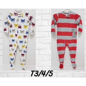 Pijamas Enteros Micropolar, Bebés Y Niños. Limón Y Rumba