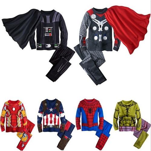 pijamas/ fantasias  infantis meninos super heróis vingadores