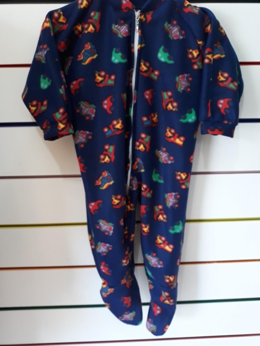 692064a09a7dfd Pijamas Infantis Macacão Com Pezinho