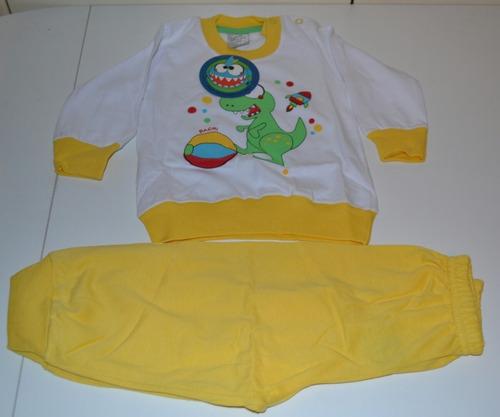 pijamas invierno pachi 4 modelos 9-18 meses little treasure