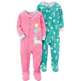 5405114262 Carters Pijamas De Algodón Para Niña Original Importada 4t