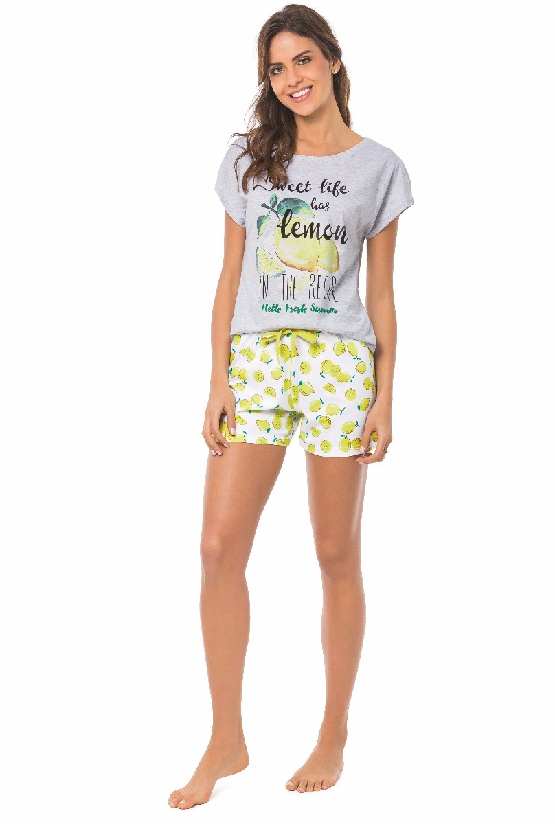 2ca2a7360 Pijamas Malwee Adulto Kit C 2 - Ref.35056 - R  134