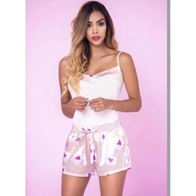 404b1e8e7 Pijamas Mujer Short Seda - Ropa y Accesorios en Mercado Libre Colombia
