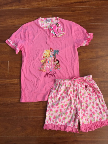 pijamas niña winx talla 10-11 años nuevo