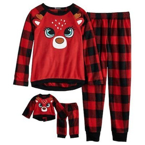 0ce020fea1 Pijama Conjunto Oki Doki Algodon Para Niña Nuevo Talla 4 - Ropa y ...