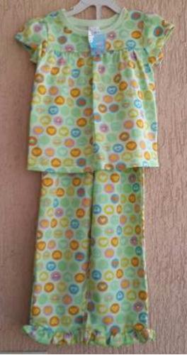 pijamas niñas. penguin. talla 4