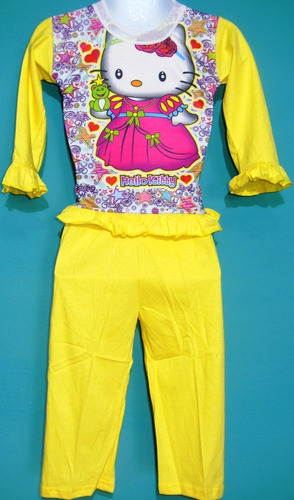 pijamas pantalon largo manga larga estampadas infantiles