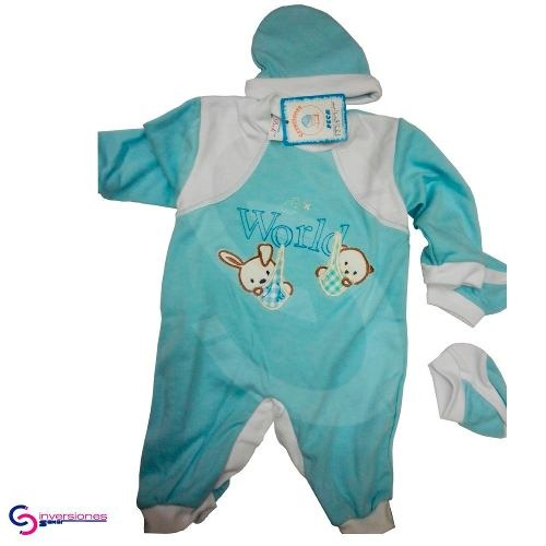 efbed4f1c Pijamas Para Bebes Ropa De Bebes Varon Niña Peck - Bs. 562