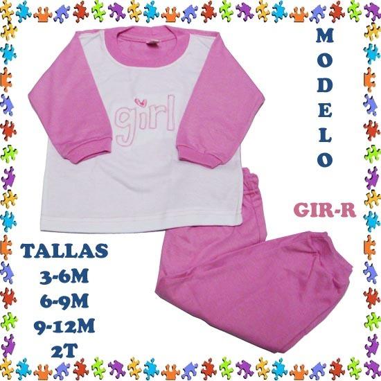 edc3e9d614 Pijamas Para Niñas Bebe 100% Algodon Hipoalergenico Ml - Bs. 19.995 ...