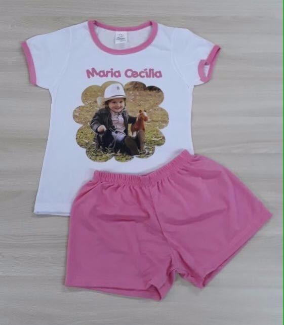 d313421be Pijamas Personalizados Como Quiser Infantil E Adulto - R  49