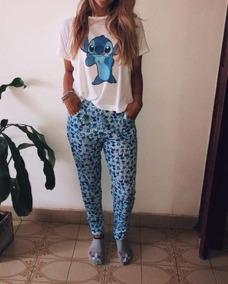 40da89210 Pijamas De Stitch Mujer Por Mayor - Ropa y Accesorios en Mercado ...