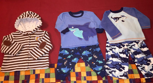 pijamas y chamarra 12 meses, v # 99